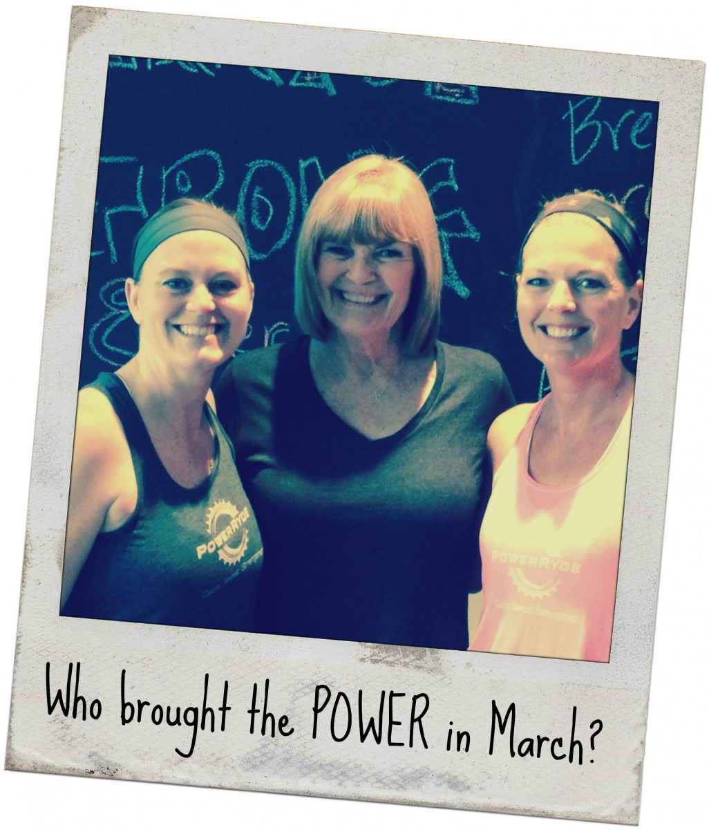 Who Brought the POWER in March?